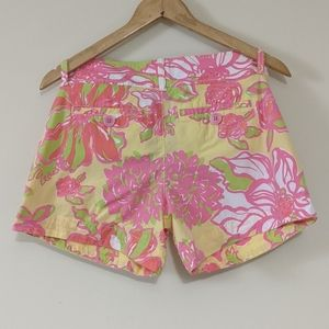 Lilly Pulitzer Shorts - Lilly Pulitzer Pink Label Callahan Floral Shorts 4